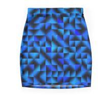 Blue on Blue on Blue Mini Skirt
