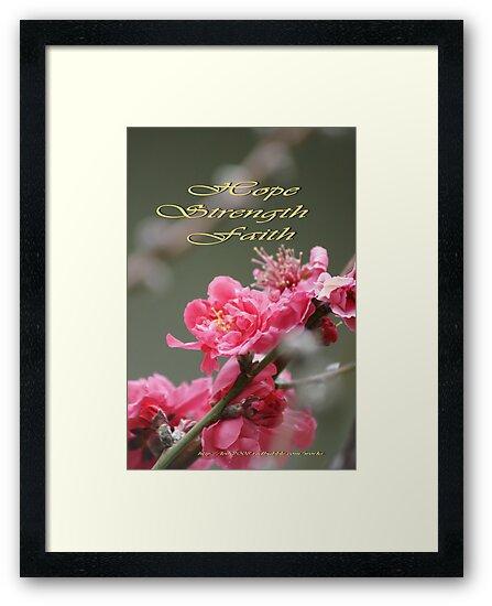 Hope, Faith, Strength; Wat Garden La Mirada, CA USA by leih2008
