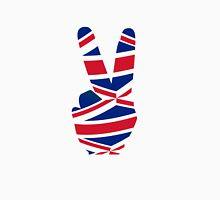 British  Peace Sign T Shirt Unisex T-Shirt