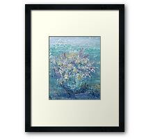 CONTINUOUS AS THE STARS THAT SHINE  by Janai-Ami Framed Print