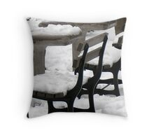 Cold Spot Throw Pillow