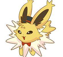 Dapper Pokemon - Jolteon by saucycustoms