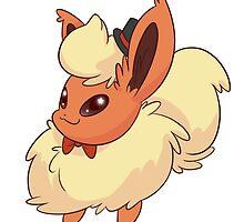 Dapper Pokemon - Flareon by saucycustoms