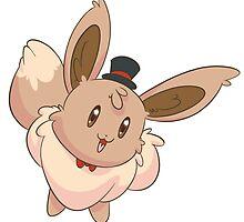 Dapper Pokemon - Eevee by saucycustoms