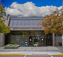 Park County Montana Court House by Bryan D. Spellman