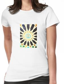 Sun Shine Star Womens Fitted T-Shirt