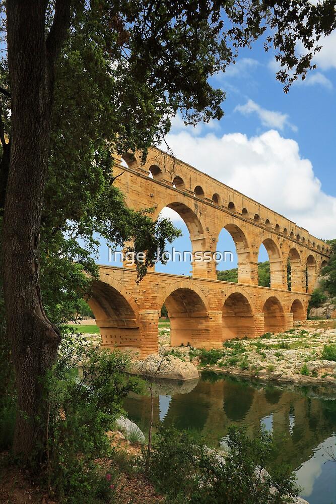 Pont du Gard by Inge Johnsson