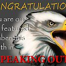 """Speaking out "" group banner  by Marilyns"