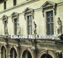 Paris The Louvre  Sticker