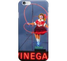 Skipping Girl Cloudy iPhone Case/Skin
