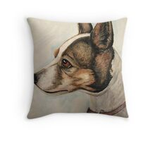 Jack Russell Portrait Throw Pillow