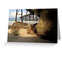 Catherine Hill Bay Jetty No.1 Greeting Card
