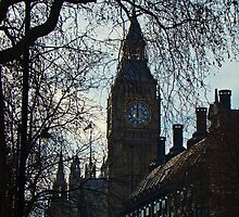 Big Ben Chimes Noon by Al Bourassa