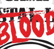 Camp Blood Sticker