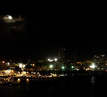 San Juan By Night by Rosemary Sobiera