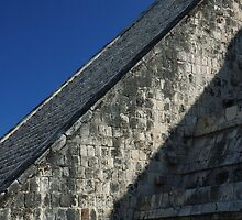 Temple of Kukulcan-Chichen Itza-Mexico by Desertwayfarer