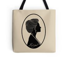 Somewhere in Time Silhouette Elise McKenna Tote Bag