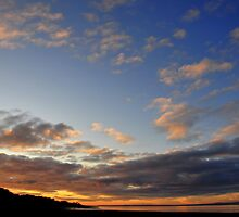 Clouds Above The Severn by Kevin Cotterell