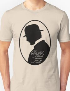 Somewhere in Time Silhouette Richard Collier Unisex T-Shirt