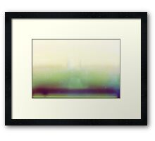 photo accident Framed Print