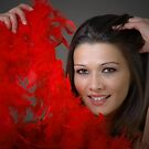 Red feathers  by aleksandra15