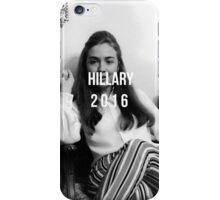 Hillary Clinton 2016  iPhone Case/Skin