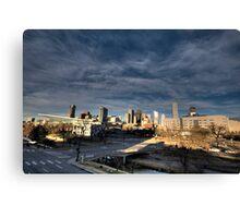 Downtown Denver from Speer Blvd Canvas Print