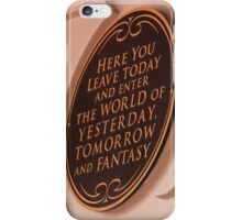 Yesterday, Tomorrow, and Fantasy iPhone Case/Skin
