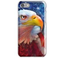 Eagle - Red White Blue iPhone Case/Skin