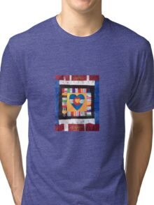 I Love Colorful Colorado! Tri-blend T-Shirt