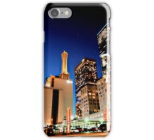 Downtown Los Angeles at Night iPhone Case/Skin