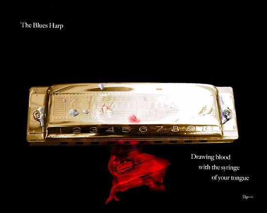 The Blues Harp by ArtbyDigman