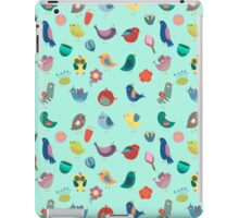 Vintage Birds and Flowers iPad Case/Skin
