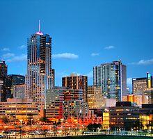 Downtown Denver at Dusk HDR by designkase