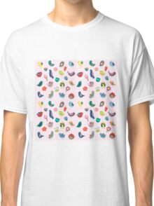 Vintage Birds and Flowers Classic T-Shirt