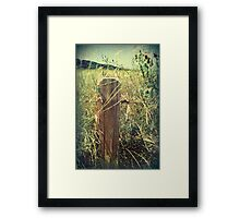 With Every Passing Moment Framed Print