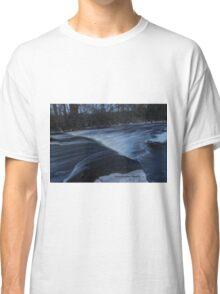 Sheboygan river (A) Blue glass. Classic T-Shirt