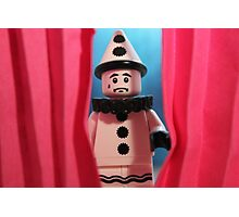 Stage Fright Photographic Print