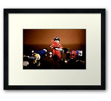 Deadly Geisha Framed Print