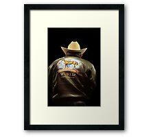 The Jacket Framed Print
