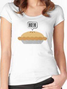 Heh, Frey Pie, Manderly Pie Women's Fitted Scoop T-Shirt