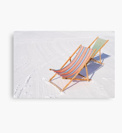 Have a seat! Canvas Print