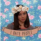 I Hate People - April Ludgate by ziggylou
