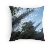 Natures grass in my neighbourhood, South Australia Throw Pillow