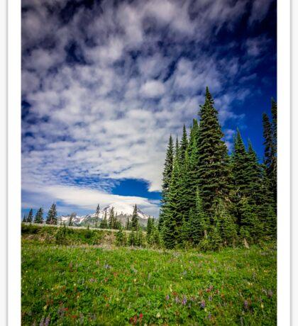 Mt Rainier, Washington Sticker
