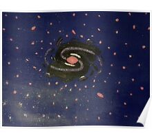 Outer Space Black Hole Poster