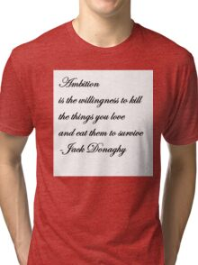 Jack Donaghy's Throw Pillow  Tri-blend T-Shirt