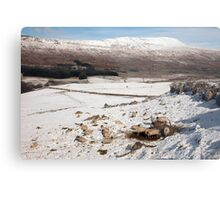 Whernside - Yorkshire's Highest Peak Metal Print