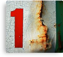 one is the loneliest number Canvas Print