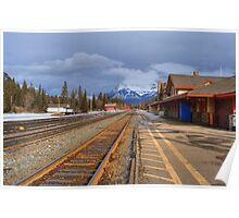 Banff Railyard Poster